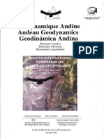Symposio Andean Geology