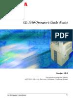 GL-1010 Operator's Guide (Basic)_USE