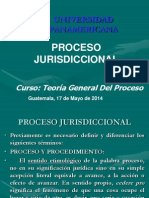 2 - Derecho Procesal - Proceso - Naturaleza Jurídica -17 y 24-05-2014