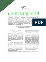 Boletin Epidemiologia La Notificacion en Vigilancia Epidemiologica