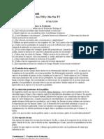 Fatouh - 2do Ano - Evolucion - Cuestionario 2009