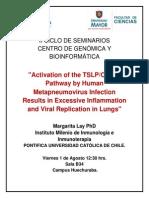 II Ciclo de seminarios Centro de Genómica y Bioinformática - Universidad Mayor