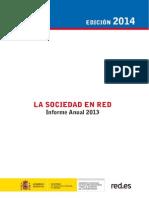 Informe Anual La Sociedad en Red 2013 Ed. 2014