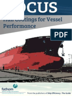 Hull Coatings for Vessel Performance