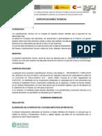 Especificaciones Tecnicas Base CHALLHUAMAYO ALTA