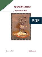 Hymne an Kali - Karpuradi-Stotra