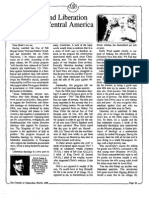 1988 Issue 3 - Bill Moyers and Liberation Theology in Central America - Counsel of Chalcedon