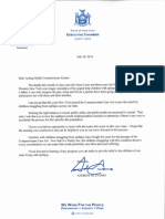 Cuomo Medical Marijuana Letter