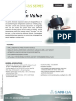 SANHUA DPF-T/S SERIES - Electronic  Expansion Valve