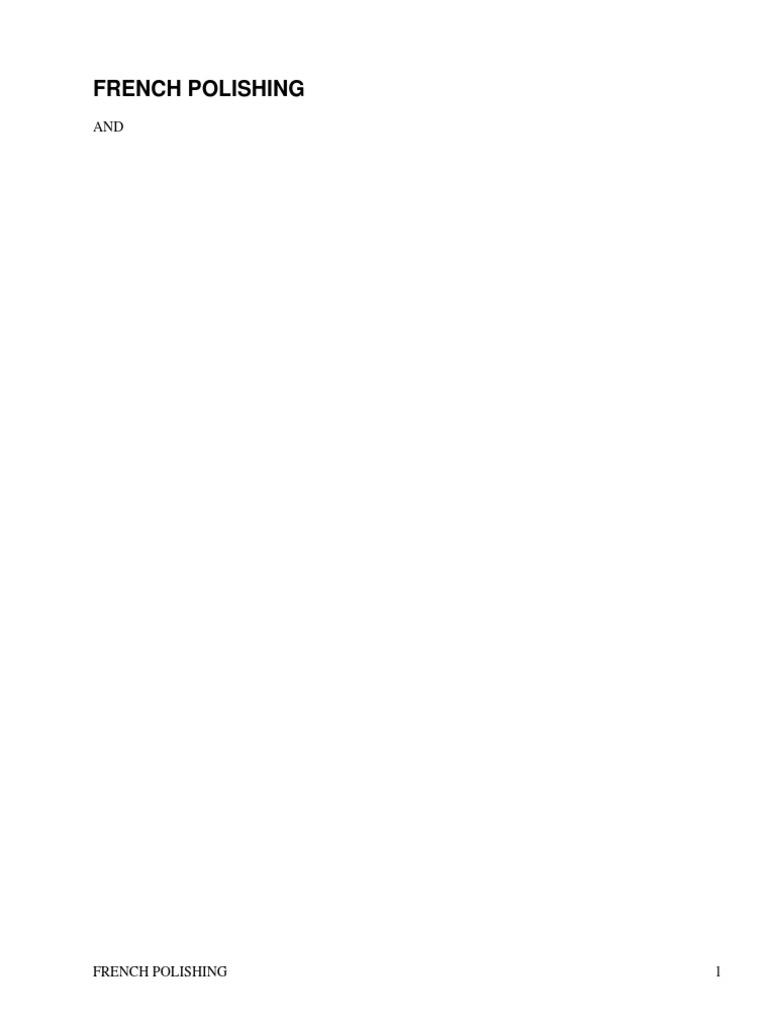 French polishing and enamellinga practical work of instruction by french polishing and enamellinga practical work of instruction by bitmead richard varnish dye fandeluxe Image collections