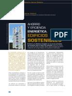 Ahorro y Eficicncia Energetica Edificios Sostenibles