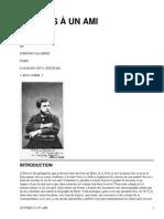 Lettres à un ami, 1865-1872 by Bizet, George, 1838-1875