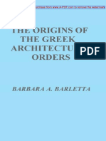 The Origins of the Greek Architectural Orders - (Malestrom)