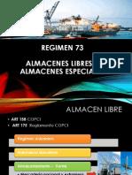 Almacenes Libres y Almacenes Especiales Diapositivas