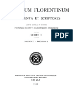 Documents of the Council of Florence (Basel)