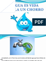 Cuida El Agua Un Chorro