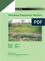 Enriching Community Pastures