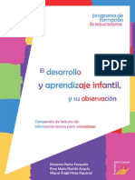 Desarrollo y Aprendizaje Infantil