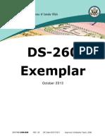 DS 260 Exemplar