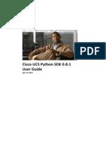 Cisco UCS Python SDK User Guide