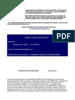 Plano Tecnico de Construcao Do Gerador Quantico de Energia Eletrica Portugues BR