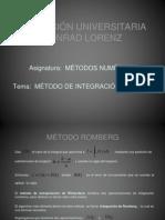 Integracion Romberg
