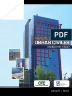 Manual de Obras CivilesCFE