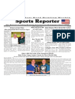 July 30 - August 5, 2014 Sports Reporter