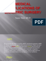 Bariatric Surgery Complications by SUNNY