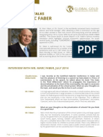 Global Gold Talks to Marc Faber - July 2014