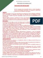 Proceso de Desalojo _ Antonio Pinto Arce