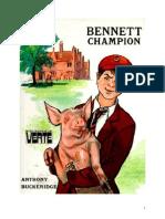 Anthony Buckeridge Bennett 17 BV Bennett Champion 1968