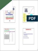 Inferencia estadística 2014