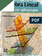 Algebra Lineal Con Aplicaciones - 4ta Edición - Stanley I. Grossman