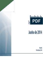 Resultado do Tesouro Nacional - Junho de 2014