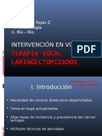 13.-Terapia vocal laringectomizados