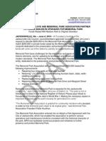2014-06-06 Memorial Park Grant Announcement