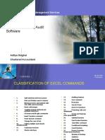 MS Excel Audit