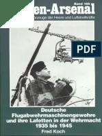 Waffen Arsenal - Band 166 - Deutsche Flugabwehrmaschinengewehre und ihre Lafetten in der Wehrmacht