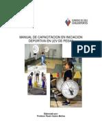 Manual de Capacitacion en Iniciacion Deportiva de Lev
