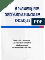 Condensations Alveolaires