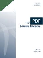 Relatório do Resultado do Tesouro Nacional - Junho/2014