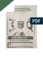 Examen Ordinario 2014 i