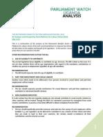 Analysis of Retirement Benefits Bill - Part 3