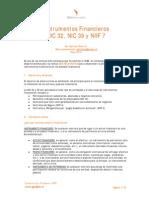 NIC 39 Instrumentos Financieros