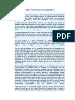 Código de Ética Del Archivista (1)
