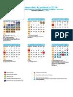 Proposta Calend EAD 2014 2º Smestre