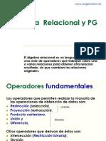 Algebra Relacional & PG