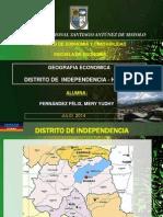Geografia Economica_distrito de Independencia