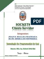 Sockets Cliete Servidor